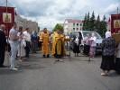 Крест преподобной Евфросинии в Ушачском благочинии 17-18 июня 2015 г.